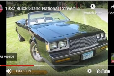 1987 Buick Grand National Convertible