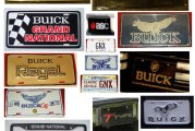Buick Grand National License Plates