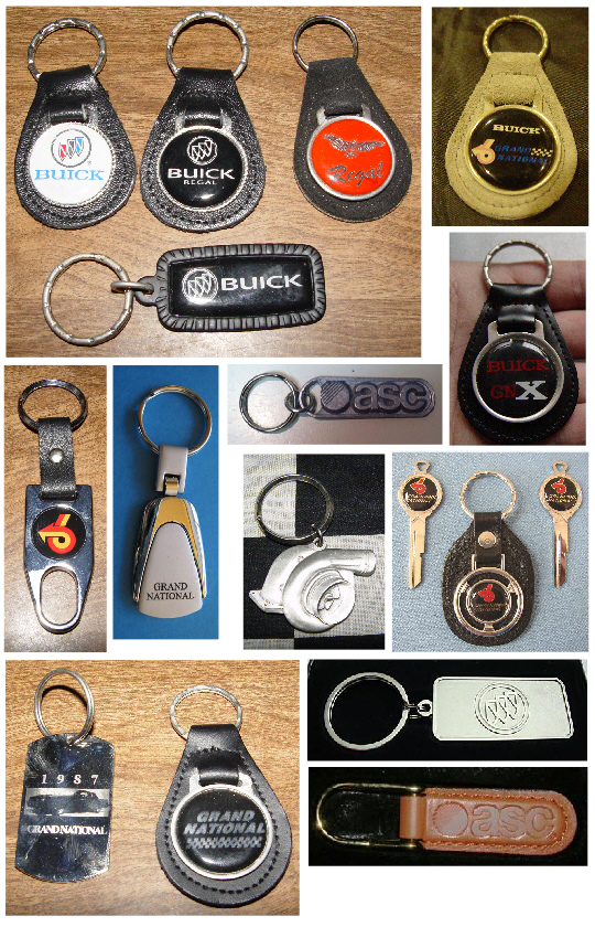 buick regal keychains