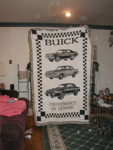 buick throw rug