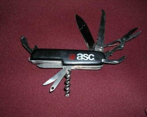 ASC Swiss army type Knife