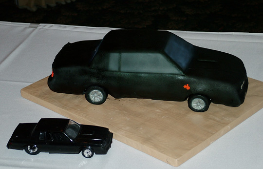 Buick Grand National Cake