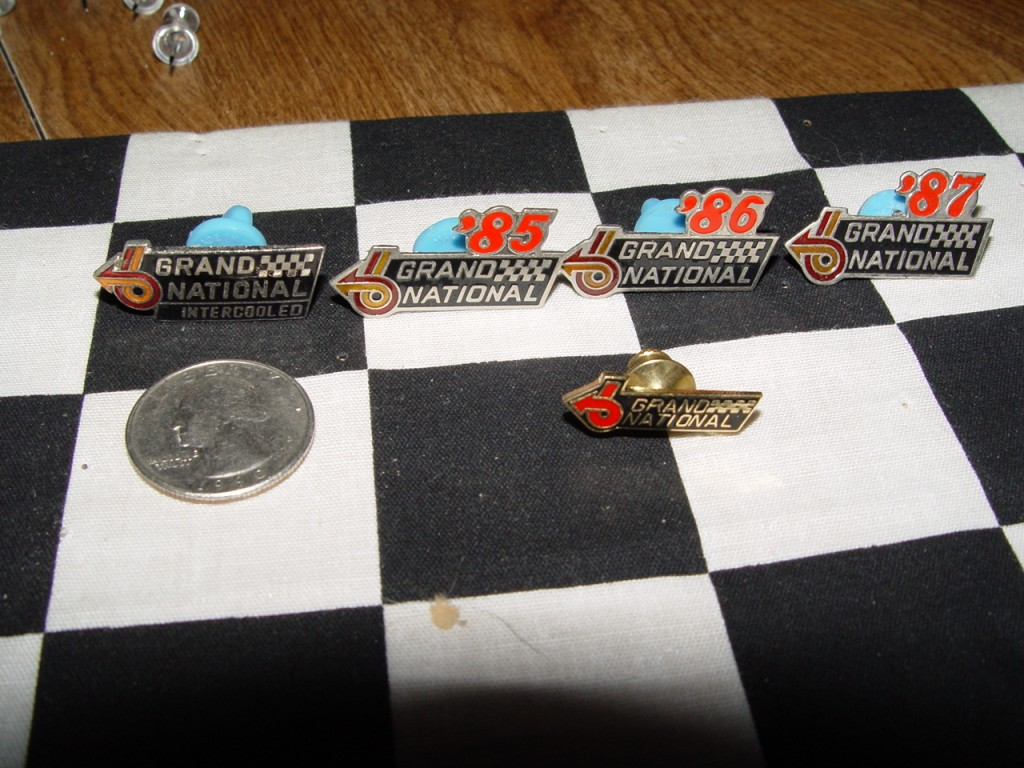 Buick Grand National pins