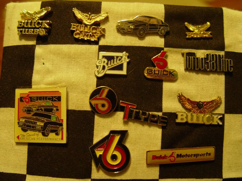 buick motorsports pins