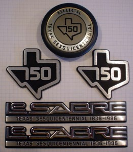 Buick LeSabre emblems