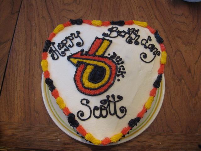 turbo 6 birthday cake