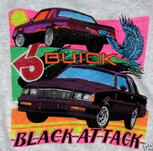 black attack t-shirt