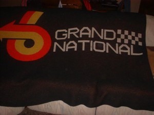 buick grand national blanket