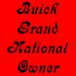 buick grand national owner