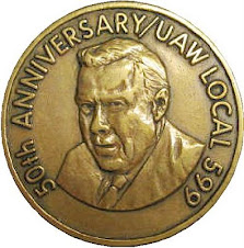 50th anniversary uaw badge