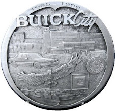buick city 1985 - 1999 medal