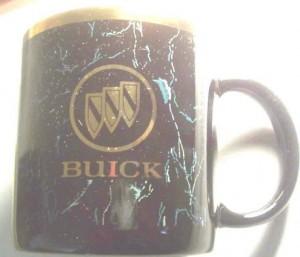 buick logo coffee cup