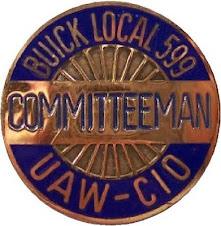 buick uaw pin