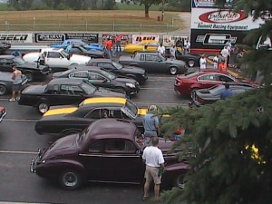 Buicks at the track
