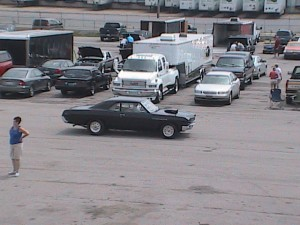 buick cruising the pits