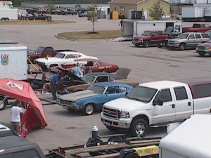 buick pit row