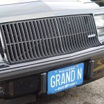 front license plate buick grand national