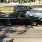 cruising woodward in a turbo buick