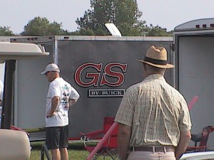 Buick GS car trailer