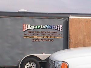 HR parts n stuff trailer