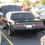 showing a buick grand national