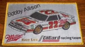 Bobby Allison Buick Regal patch