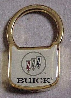 Brass Buick Key Chain