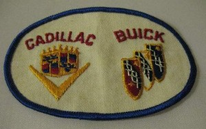 Cadillac Buick Uniform Patch