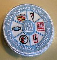 GM Automotive Service Educational Program Patch