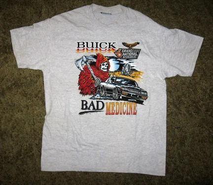 bad medicine t shirt