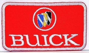 buick embroidered patch