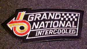 buick grand national patch
