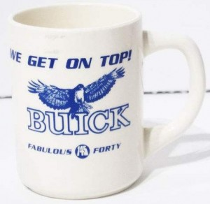 buick plant coffee mug