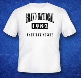 1987 GN Muscle t-shirt