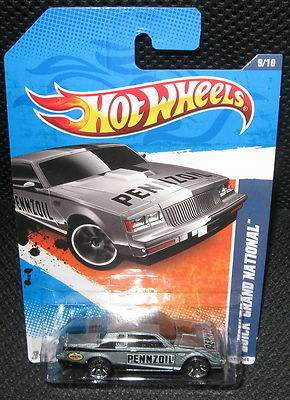 Buick Grand National Pennzoil Silver HW car