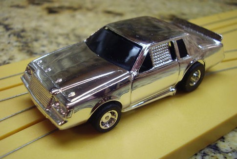 TYCO 440 X2 BUICK REGAL GRAND NATIONAL CHROME