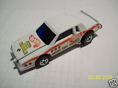 White Buick Regal Crash Test Crack Up