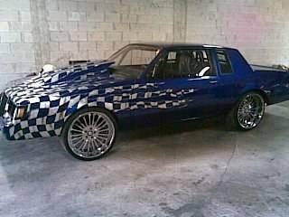 wild paint buick regal