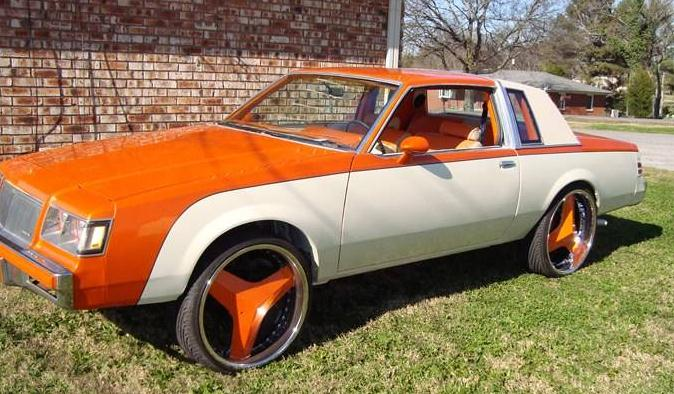 1987 Buick Regal custom painted