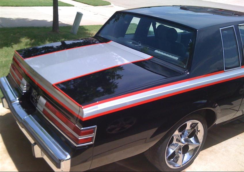 Buick Regal custom paint job