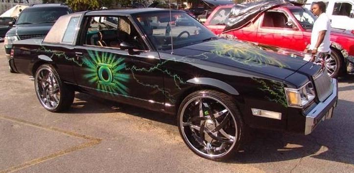 1987 Buick Regal Limited custom paint job