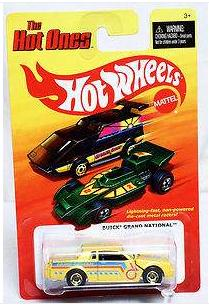 hot wheels hot ones buick grand national