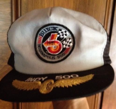 buick indy 500 cap