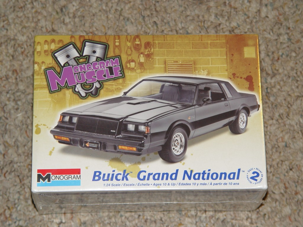 monogram muscle buick grand national