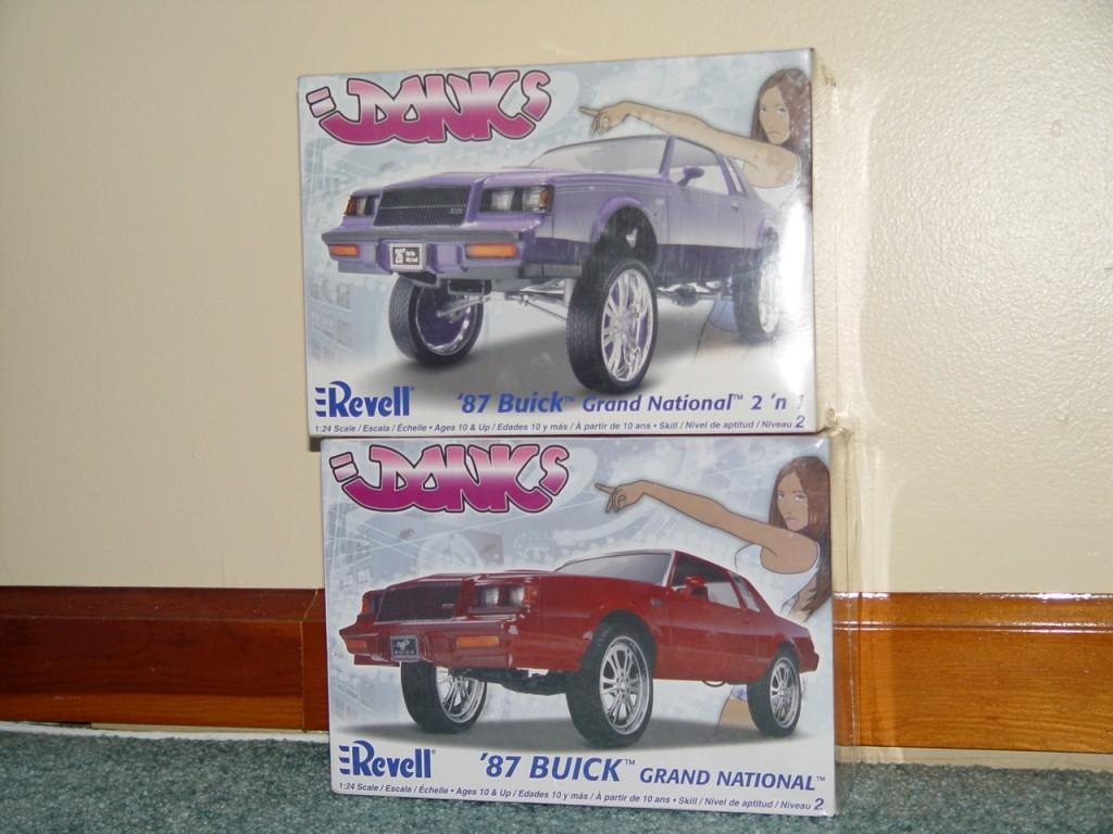 revell 87 buick donks