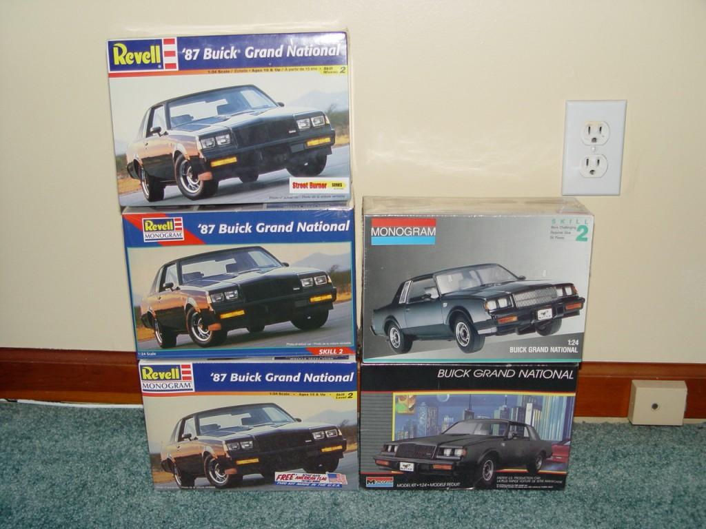 revell monogram buick grand national model kit