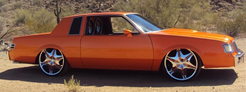 1987 Buick Regal T-type custom paint