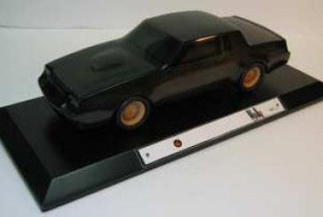 Buick Grand National Wood Sculpture Car