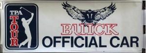 Buick Golf Tour Sticker