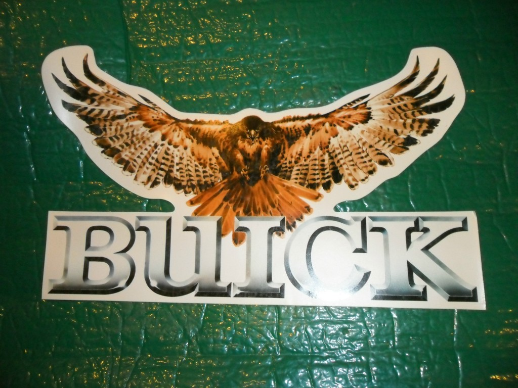 buick hawk sticker
